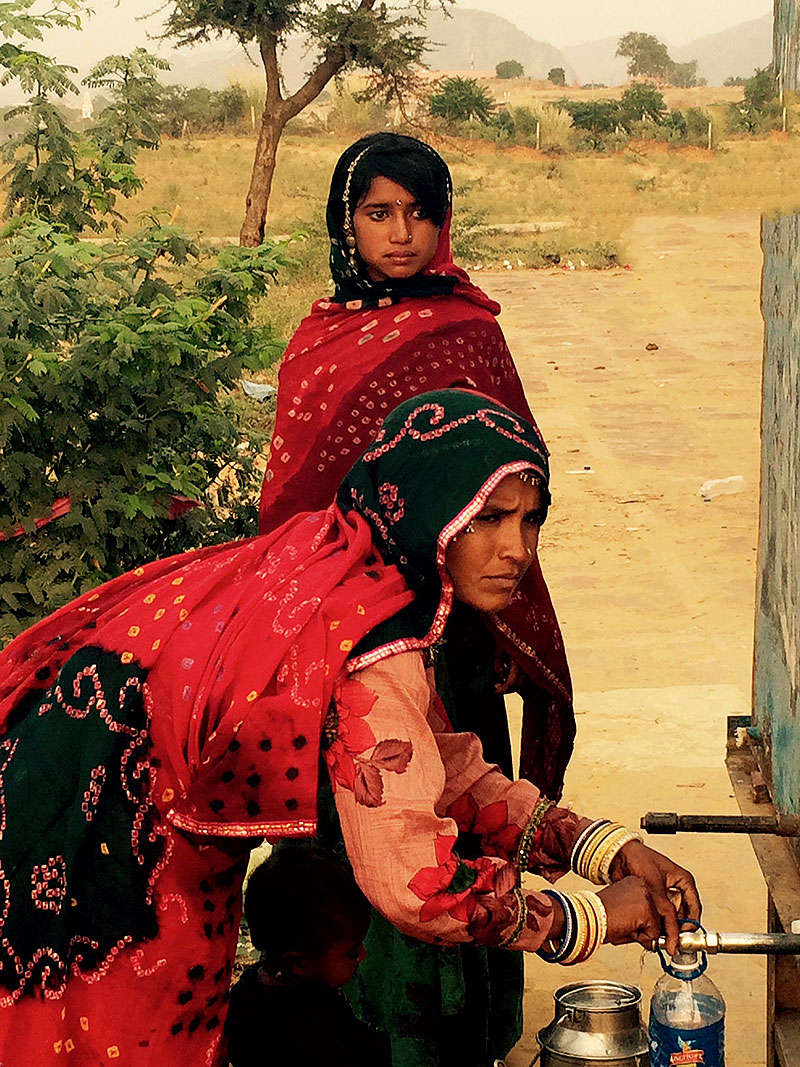 Gypsy Women in Pushkar